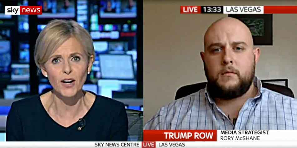 McShane On SkyNews London