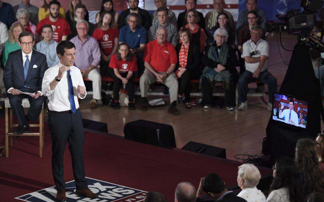 Town hall on enemy turf? Fox News debate divides 2020 Dems